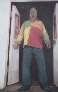 AKA Irish Frank (2012), Oil on Linen, 127 x 81cm (50 x 31 inches)