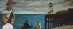 All the Fun of the Fair (2011/12), Oil on Linen, 61 x 152cm (24 x 60 inches)