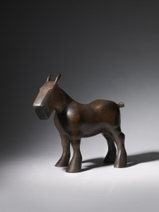 Draft Horse (2014), Bronze (Green Patina), Edition of 9, H36 x L40 x W14cm