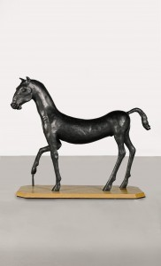 Field Day 1 (Kouros Horse) (1986), Bronze, Edition 3 of 6, H153 x W195 x D76cm