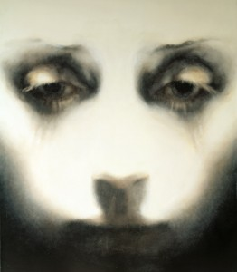 Head Close Up (2007), Oil on Canvas, 97.8 x 82.5cm (38.5 x 32.5 inches)