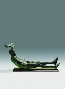 Dying King (1963), Bronze, Edition 1 of 3, H90.2 x W198.1 cm