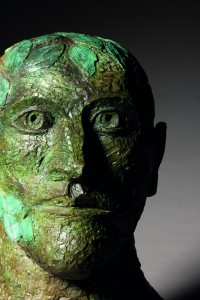 Green Man (1991), Bronze, Edition of 6, H57.8 x W48.25 x D34.35 cm