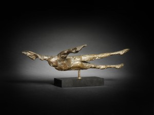 Horizontal Birdman I (1962), Bronze, Edition 10 of 10, H12.1cm x W40.6cm