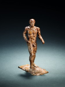 Small Male Figure (1986), Bronze, Edition 6 of 15, H29.6cm (11.75 inches). FCR354.