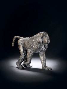 Elisabeth Frink, Walking Baboon, 1989, Bronze  Edition 6 of 9 FCR383 (SC54A)  H: 29.8 cm (11.75 inches)