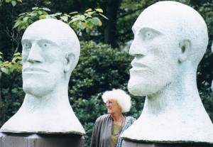 Elisabeth Frink and Desert Quartet Head