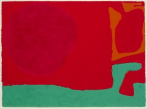 Patrick Heron, November III (1973), Gouache on Paper, 58.5 x 81cm (23 x 32 inches)