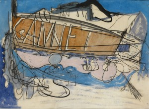 Peter Lanyon, Gannet, 1964, Watercolour, 55 x75cm (21.5 x 29.5 inches)