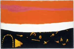 Roger Hilton, Orange and Brown (1968), Oil on Canvas, 51 x 76cm (20 x 30 inches)