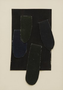 Granada (c.1969), Acrylic and Collage on Paper, 34.3 x 24.7 cm