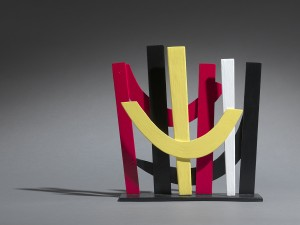 Terry Frost, Untitled Sculpture, 2003, Oil on metal Edition of 9 26 x 23 cm (10.2 x 9 inches)