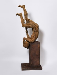 Freefall (2015), Bronze, Edition of 3, 147 x 59 x 57cm