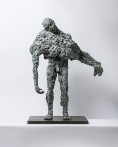 Rescue Me (2015), Bronze, Edition of 6, 105 x 87 x16cm