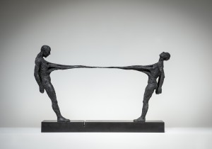 Ties That Bind (2015), Bronze, Edition of 6, 47 x 72 x 16cm