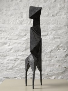 Diamond Trigon II (1970), Bronze (black), Edition 2 of 6, H52cm (20.5 inches), 613