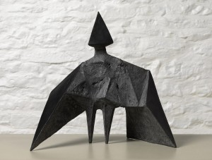 Maquette III Stranger (1969), Bronze (black), Edition 2 of 6, H38cm (15 inches), 589B