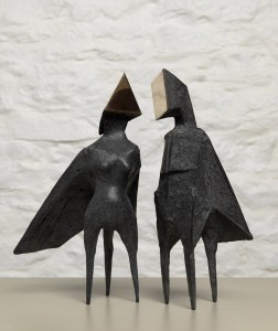 Maquette III Two Winged Figures (1973), Bronze, Edition 2 of 6, H26cm (10.5 inches), 670S