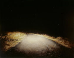 Cornish Road II (2005-07), Oil on Board, 32.5 x 42cm (12.75 x 16.5 inches)