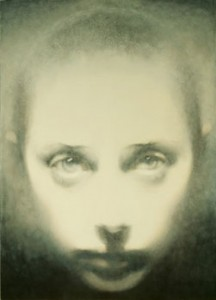 Small Head-Head On (2005-06), Oil on Board, 17.75 x 16cm (7 x 6.25 inches)