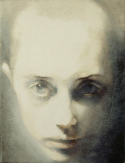 Head-Looking Up (2004-06), Oil on Canvas, on Board, 122 x 91.5cm
