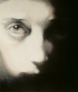Head-One Eyed (2007), Oil on Canvas, on Board, 91.5 x 77cm