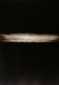 Horizontal Road (2004-07), Oil on Canvas, on Board, 122.5 x 85cm