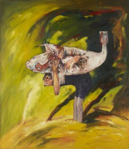 The Burden (1971), Oil on Canvas, 72 x 62 inches