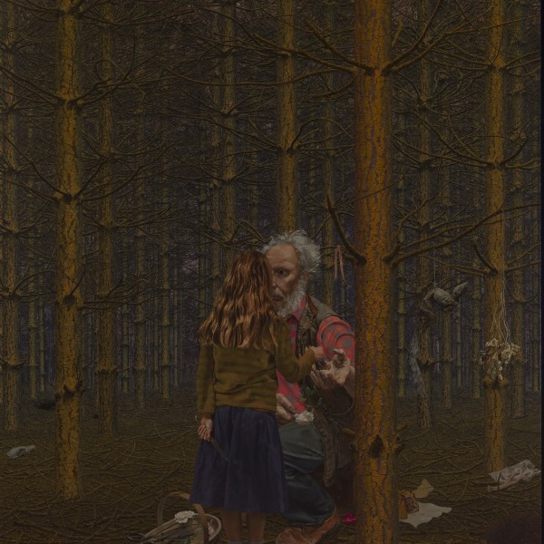 Sheeny and Flora (2006-09), Oil on Canvas, 175 x 154cm