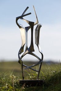 Paul Mount, Allegro (1988), Stainless Steel, Edition of 7, H34cm (13.5 inches)