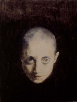 Untitled no.12 (2003), Oil on Canvas, 18 x 13.5cm