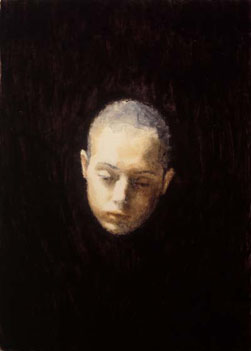 Untitled no.11 (2003), Oil on Canvas, 13.5 x 9.5cm