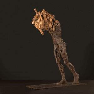 Equinox (2013), Bronze, Edition of 9, 39 x 11 x 30cm (15 x 4.5 x 12 inches)