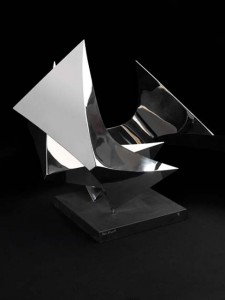 The Nest (1975), Stainless Steel, Edition of 7, 46 x 61 x 48cm