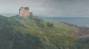 Andrew McIntosh, Living Like it's Far Away, Oil on Linen,  200 x 110 cm