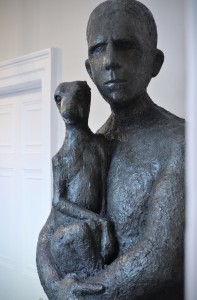 Anthony Scott sculpture at Combe Grove hotel