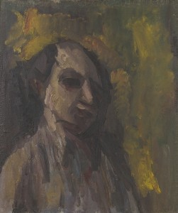David Bomberg, Double Sided Self Portrait, 1932, Oil on Board, 61 x 52 cms