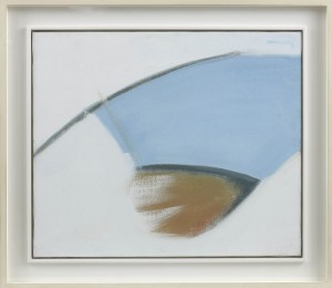 Peter Lanyon, Blue Day, 1963, Oil on canvas 20 x 24 inches