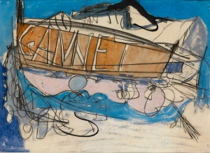 Peter Lanyon, Gannet, 1964, Watercolour, 55 x 75 cm (21.5 x 29.5 inches)