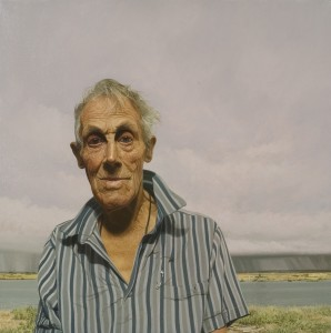 Philip Harris, An Old Friend Remembered, 2010 Oil on Linen, 16 x 16 inches