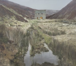 Andrew McIntosh Well of the Lecht, 2017 Oil on Linen, 150 x 130 cm