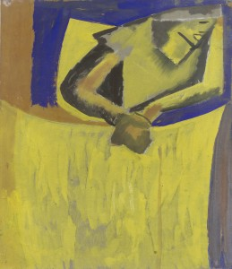 David Bomberg - Comp for new art salon poster