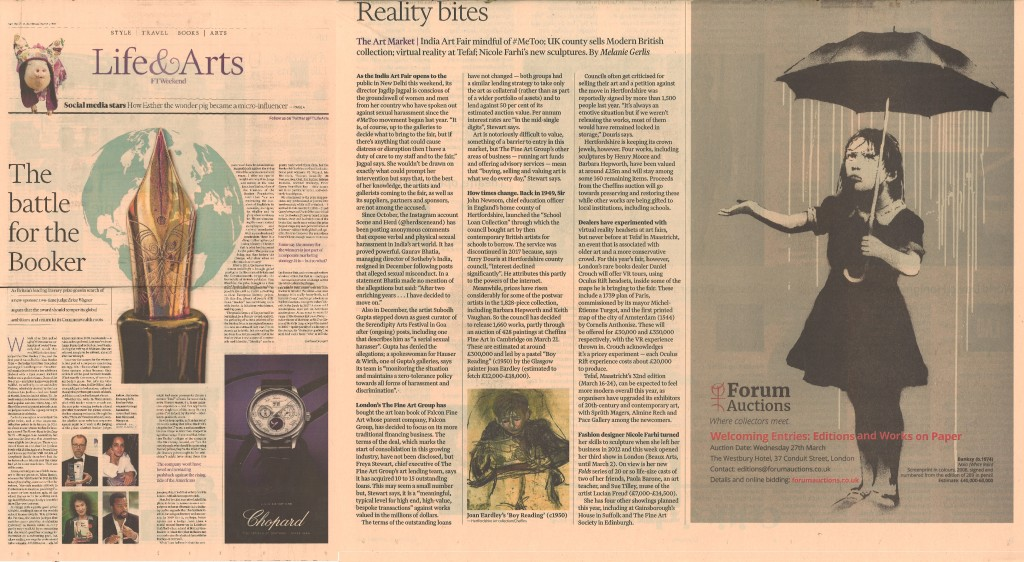 FT Life & Arts (UK) 02.02.2019