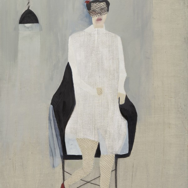 The Bridesmaid (2015), Oil on Wood, 61 x 49.5cm