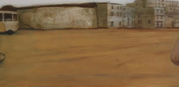 Dreamtime (2012), Oil on Linen, 38 x 152cm
