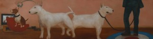 Half a World Away (2011/12), Oil on Linen, 36 x 137.2cm