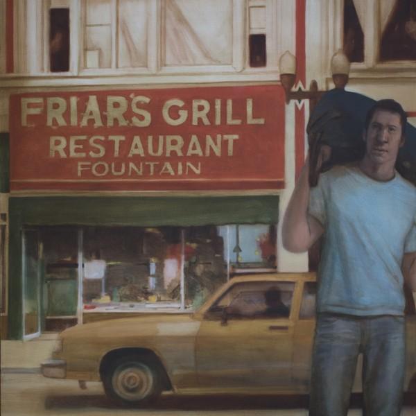 Kirk Vidas (2012), Oil on Linen, 127 x 81cm