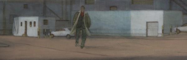 Poundland (2012), Oil on Linen, 20 x 122cm