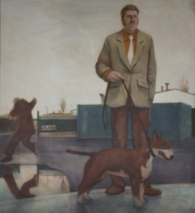 The Poacher (2012), Oil on Linen, 127 x 137.2cm