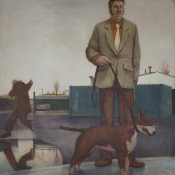 The Poacher (2012), Oil on Linen, 127 x 137.2cm